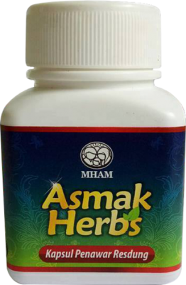 Botol Asmak Herbs